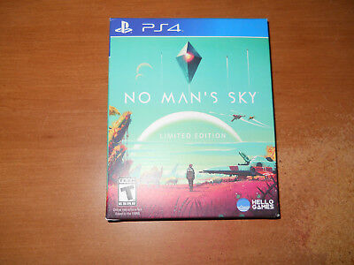 No Man's Sky: Limited Edition (Sony PlayStation 4, 2016) Brand New Sealed