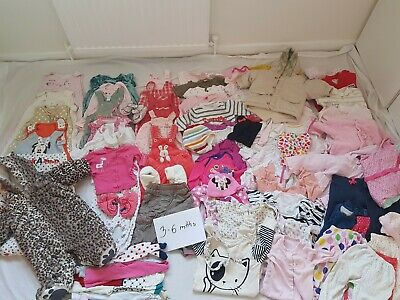 Baby Girls Bundle - 91 Items - 3-6 Months, Next, Gap, Mother Care...