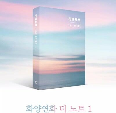Bts- The Notes 1- The Most Beautiful Moment In Life 花樣年華 [Korean Ver] In Stock