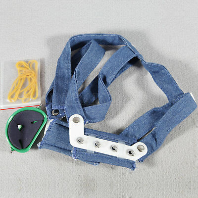 Dental High Pull Strap Headgear Facemask Combination Head Caps Small YTY