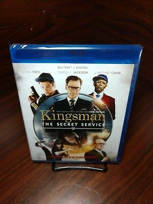 Kingsman: The Secret Service(Blu-ray+HD Digital)NEW-Free Shipping with Tracking