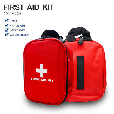 120 Piece Emergency First Aid Kit - A Must Have for Every Family AU