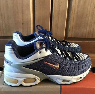 premium selection dc6ec a4624 NIKE AIR MAX Tailwind 5 Midnight Navy 7uk 2000 DS BNIB OG Box Rare Vintage  TN TL