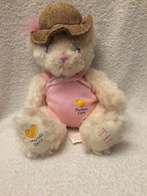 b550d5168ad68 Thomas Cook Airlines Plane Tilly White Bear Soft Toy Holiday Teddy Comforter