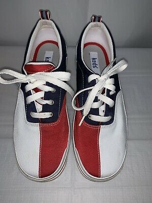5583142a833 VINTAGE KEDS CHAMPIONSHIP Series White Leather Baseball Sneakers ...