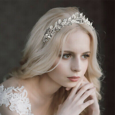Fascinator silver leaves spring race carnival GOLD OR SILVER