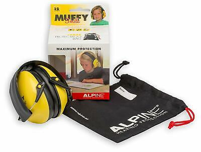 Alpine Muffy Smiley : Casque Anti Bruit Enfant (Atténuation -25 Décibels)
