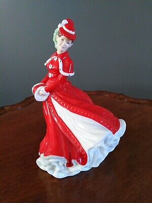 ROYAL DOULTON Pretty Ladies Christmas Celebration HN 4721