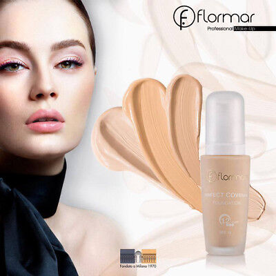 FLORMAR PERFECT COVERAGE FOUNDATION - 30ml SPF15