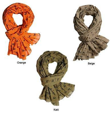 VERNEY-CARRON CHECHE SCARF, Shooting, Hunting In Khaki - EUR