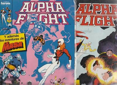 ALPHA FLIGHT  Nºs.   30.  31.    ( LOTE  2  NUMEROS)  FORUM...