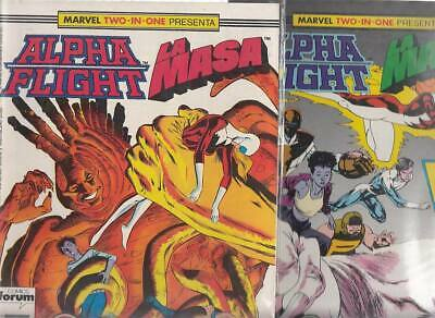 ALPHA FLIGHT  Nºs.   42.   43.   ( LOTE  2  NUMEROS)  FORUM...
