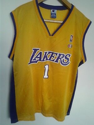 309eedb9cad MENS NIKE LOS Angeles Lakers  5 Robert Horry Basketball Jersey Size ...
