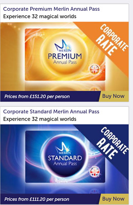 Merlin annual pass, Get 20% Discount prices from £111.20 for 12 months **