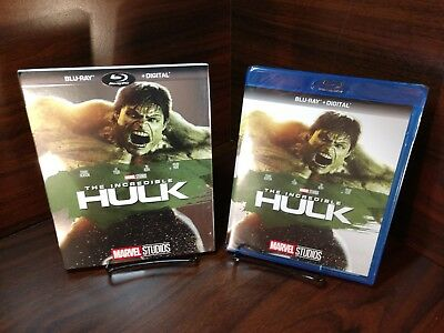 Incredible Hulk,The [2008](Blu-ray+Digital)w/Slipcover-NEW-Free Shipping w/Track