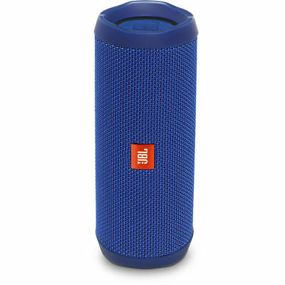 JBL Flip 4 Waterproof Portable Bluetooth Speaker - Blue JBLFLIP4BLUAM