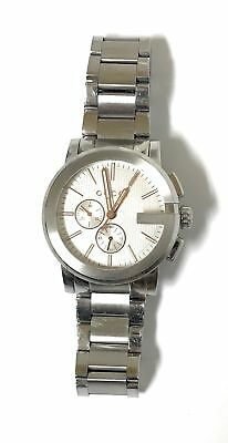accc09098ab GUCCI G-CHRONO STAINLESS Steel Chronograph Silver Dial Mens Watch ...