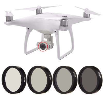 DJI Phantom 3&4 ND 4 CPL Lens Filters Pro Density Neutral ND2 ND4 ND8 ND16 Set