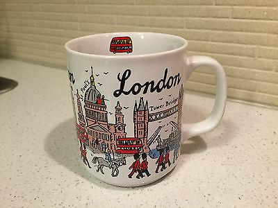 London coffee tea cup mug sampson souvenirs peter smith picturemaps novelty 12oz
