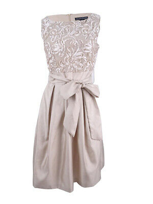 9509d5f7446 JESSICA HOWARD WOMEN S Embroidered Sash Fit   Flare Dress -  65.99 ...