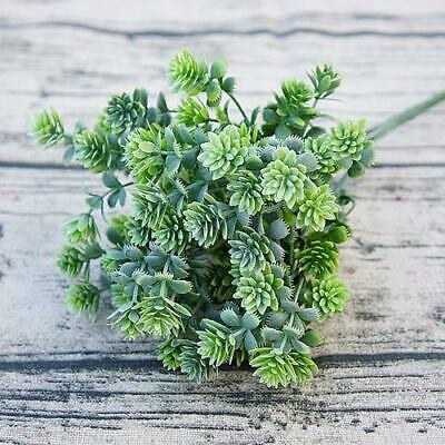 Artificial Succulent Leaf Greenery - Green