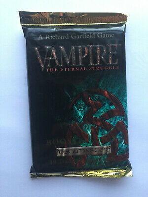 VAMPIRE the ETERNAL STRUGGLE - MASQUERADE  -  BOOSTER PACK  - 19 BOOSTER PACK -