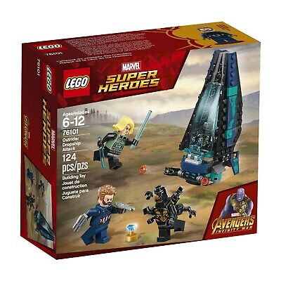 LEGO Marvel Super Heroes Avengers: Infinity War Outrider Dropship Attack 7610
