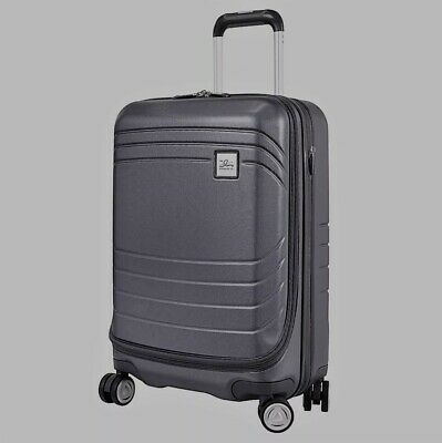 Grey Skyway Luggage Cascadia Carry-On Expandable Spinner Dual Wheel System