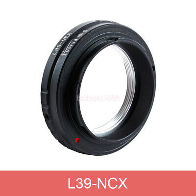 L39-NEX L39 M39 Mount Lens to E mount NEX 3 C3 5 5n 7 Adapter Ring for Sony