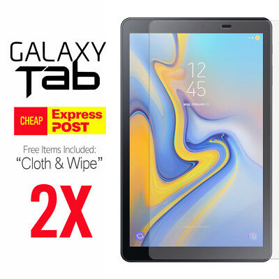 """2X Tempered Glass Screen Protector for Samsung Galaxy Tab S4 Tab 10.5"""" inch"""