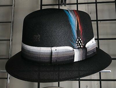 91499a563ee MENS MEDIUM Raiders Lowrider Hat Fedora Vintage Rockabilly Rat Rod ...