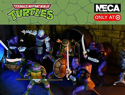 NECA Teenage Mutant Ninja Turtles Target Exclusive TMNT SDCC 2017 U PICK!