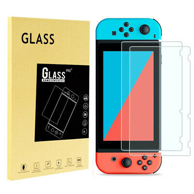 [1/2 Pack] For Nintendo Switch Film Premium Tempered Glass Screen Protector
