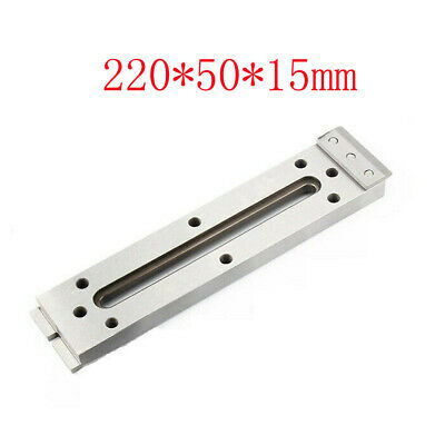 1x Wire Cut EDM Fixture Board Stainless Jig CNC Tool Clamp Level 220x50x15mm