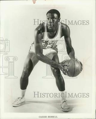 1968 Press Photo Michigan star Cazzie Russell now with the New York Knicks