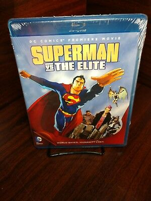 Superman vs. The Elite (Blu-ray Disc)NEW (Sealed)Free Shipping w/Tracking