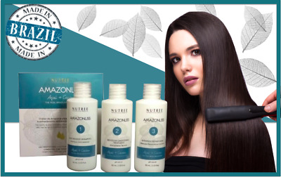 Amazonliss Brazilian Keratin Hair Treatment Kit 2.03 oz by Nutree Professional