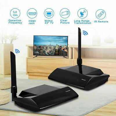 PAT-580 PAT-556 5.8g HDMI AV Sender TV Wireless Audio Video Transmitter Receiver