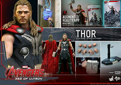 (Es) Hot Toys 1/6 Marvel Avengers Mms306 Age Of Ultron Thor Action Figure
