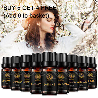 Essential Oils 100% Pure Natural Aromatherapy Essential Oil Fragrance Aroma UK
