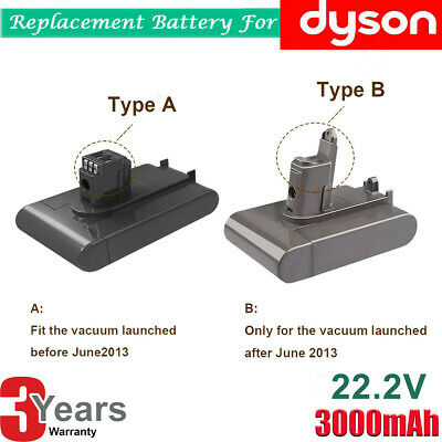 3.0A Battery For Dyson Vacuum Cleaner DC31 DC34 DC35 DC44 DC45 Animal Type A/B
