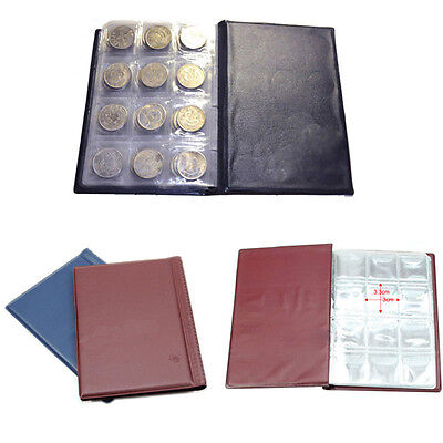 Classic 120 Coin Collection Holders Storage Money Penny Pocket Album Book Folder