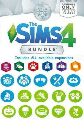 ⭐SALE⭐ THE SIMS 4 + ALL expansion packs | 10+ DLC | PC & MAC | Great BANDLE