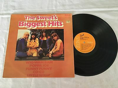 The Sweet The Sweet's Biggest Hits 1972 Australian Press Lp