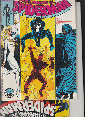 SPIDERMAN.VOL. 1  Nºs  117.  122   ( LOTE  2  NUMEROS  )   FORUM