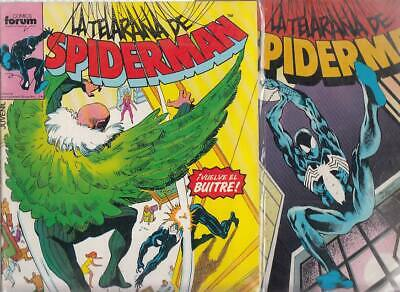 SPIDERMAN.VOL. 1  Nºs  158.  159.    ( LOTE  2  NUMEROS  )   FORUM...