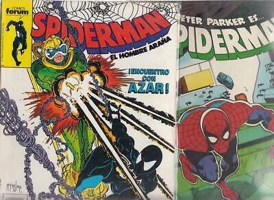 SPIDERMAN.VOL. 1  Nºs.    165. 188   ( LOTE  2  NUMEROS  )   FORUM...