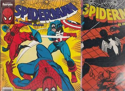SPIDERMAN.VOL. 1  Nºs.    186.  187.    ( LOTE  2  NUMEROS  )   FORUM...