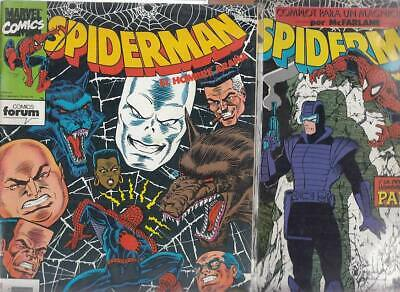 SPIDERMAN.VOL. 1  Nºs.  227.   228.     ( LOTE  2  NUMEROS  )   FORUM.