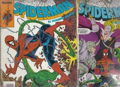 SPIDERMAN.VOL. 1  Nºs.  223.   224.     ( LOTE  2  NUMEROS  )   FORUM...